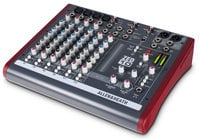 10-Channel Compact Mixer with USB Interface and 4 XLR Inputs
