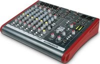 Allen & Heath ZED-10FX Mixing Console with USB Port and Digital Effects, 4 Mono Channels, 2 Stereo Channels