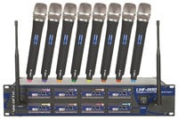 UHF Wireless Mic System, 8 Channel
