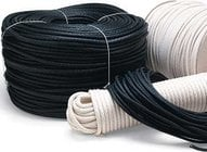 Stretch-Resistant Sash Cord (Black, Sold by the Foot)