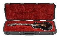 SKB 3I-4214-56 Hardshell Waterproof Electric Guitar Case for Single-Cutaway Guitars