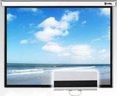 "50"" x 80"" ReTract Plus Matte White Manual Wide Screen (16:10, 94"", with Standard Return)"