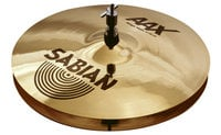 "Sabian 21402X AAX 14"" Stage Hi-Hat Cymbals in Natural Finish"