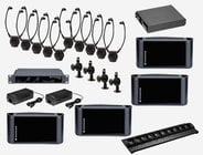 Dual IR Assitive Listening System Package