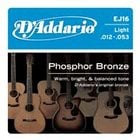 10-Pack of Light Phosphor Bronze Wound Acoustic Guitar Strings