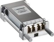 DVI Fiber Optic Extender, Transmitter and Receiver Set