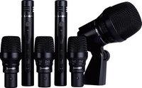Lewitt DTP-BEAT-KIT-6 DTP Beat Kit 6 6-Piece Microphone Drum Package with Case