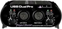ART USB-DUAL-PRE-PROJECT USB Dual Pre PS Project Series 2-Channel USB Microphone Preamp