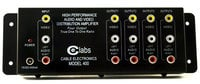 Cable Electronics CEL-AV400 1x4 Composite Audio/Video Distribution Amplifier CEL-AV400