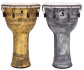 """10"""" Synergy Freestyle Mechanically Tuned Djembe Extended Rim"""