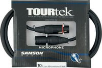 Samson TM10-SAMSON TourTek Mic Cable, 10 ft