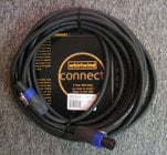 Speaker Cable, 12 Gauge, NL4 FC Connectors, 50 Ft