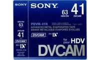 Sony PDVM41N  Cassette DVCAM Mini Digital,  41min