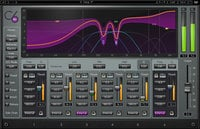 Waves C6 Multiband Compressor 6-Band Multiband Compression Plugin C6TDM