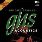 Extra Light Bright Bronze 80/20 Copper-Zinc Acoustic Guitar Strings