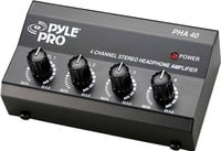 Pyle Pro PHA40 4-Channel Stereo Headphone Amplifier