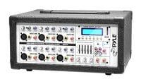 6-Channel 600W at 4 Ohms Powered Mixer with MP3 Input