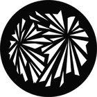 Geometric Explosion Patterned Steel Gobo