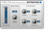 Antares SYBIL-EVO Variable Frequency De-Esser Plug-in (Mac/PC) SYBIL-EVO