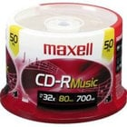 50-Pack of 700 MB.80 Min. CD-Rs (Maxell Part #: 625156)