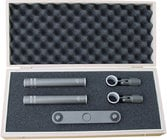 Stereo XY/ORTF Pair of M300 Microphones with Stereo Bar, Adapter, Clips, & Case