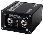 Switchcraft SC900CT DI Box, Custom Transformer, Ground Lift