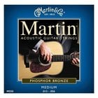 Martin Strings M550-MARTIN Medium Phosphor Bronze Acoustic Guitar Strings