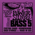 Ernie Ball P02821 Power Slinky 5-String Electric Bass Strings P02821
