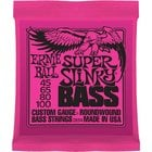 "Ernie Ball Super Slinky Bass Strings .045-.100"" Super Slinky Electric Bass Strings"
