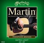 Martin Strings M530 Extra Light Phosphor Bronze Acoustic Guitar Strings