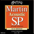 Martin Strings MSP3150 Light/Medium SP 80/20 Acoustic Guitar Strings