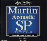Martin Strings MSP4200 Medium Martin SP Phosphor Bronze Acoustic Guitar Strings