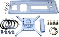 White Suspended Ceiling Kit with 500UCM Projector Mount