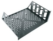 4-Space Vented Utility Rack Shelf
