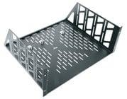 Middle Atlantic U4V  4-Space Vented Utility Rack Shelf