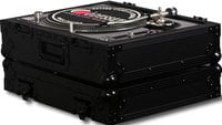 Odyssey FZ1200BL  Black Label Series Single Turntable Case for Technics Style 1200 Series Turntables