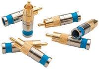 Paladin Tools 9720-PALADIN 10 Pack of RG59 Compression RCA Connectors