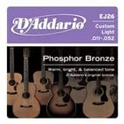 Custom Light Phosphor Bronze Acoustic Guitar Strings