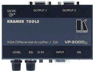 Kramer VP200DXL XGA Differential Amp / Distribution Amp