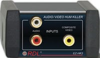 RDL EZ-HK3  Audio/Video Hum Eliminator