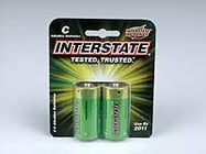 Interstate Battery DRY0015 Workaholic C Batteries, 2pk DRY0015