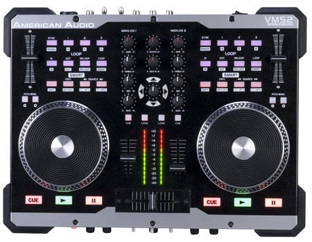 American Audio VMS2 2 Channel USB DJ MIDI Controller VMS2-AMERICAN