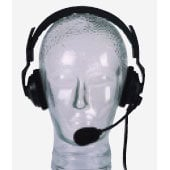 ASL USA HS-2/D  Headset, Dual Muff, Dynamic  HS-2/D