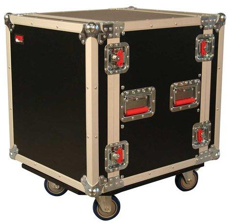Gator Cases G-TOUR12UCA-24D Oversized ATA 12RU Amp Rack, with Casters. G-TOUR12UCA-24D