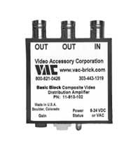 Video Accessory Corp 11-913-102 Video Distribution Amp 1x2 11-913-102