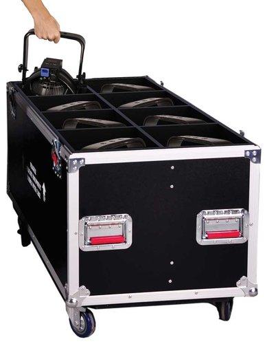 Gator Cases G-TOURPAR64-LED-8 Case for (8) LED PAR 64 Light Fixtures G-TOURPAR64-LED-8