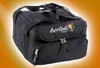 "Arriba Cases AC-130 13""x13""x9.5"" Lighting Bag for American DJ Deco 250, etc. AC-130"