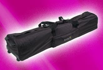 Arriba Cases AC-180 Dura Truss System Case with Wheels AC-180
