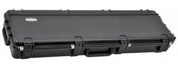 SKB Cases 3I-5014-6B-L Hardshell Electric Bass Case with Wheels and Layered Foam 3I-5014-6B-L