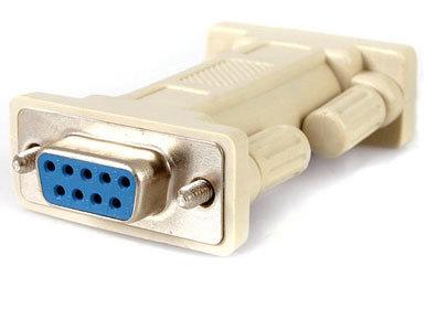 TecNec NM9FF  Null Modem DB9 F-F Adapter  NM9FF
